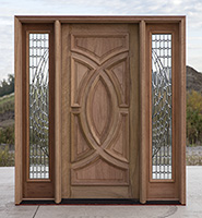 2, CL 327 Olympus Door With Tiffany Sidelites