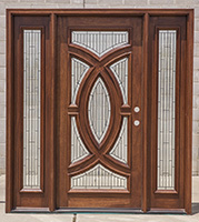 front door with sidelightsExterior Doors with Sidelights Wholesale Clearance Wood Doors