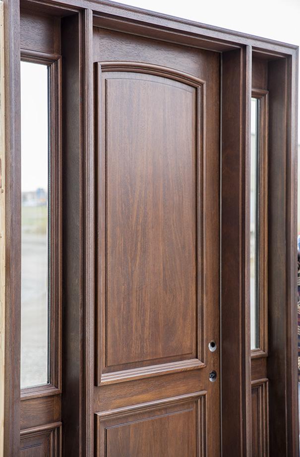 CL 4162 Mahogany Exterior Door Walnut Finish