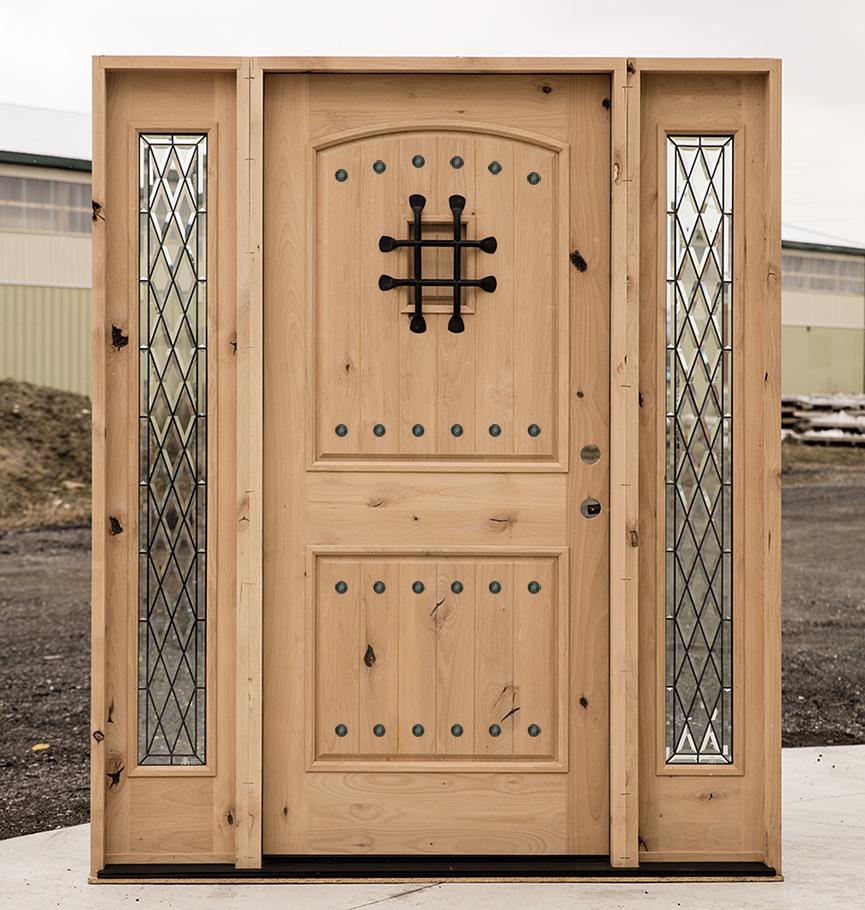 Southwest Style Front Doors