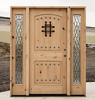 Knotty Alder Front Doors CL 49 SW 83 With Sidelights Only $2499 Un Finished  ...