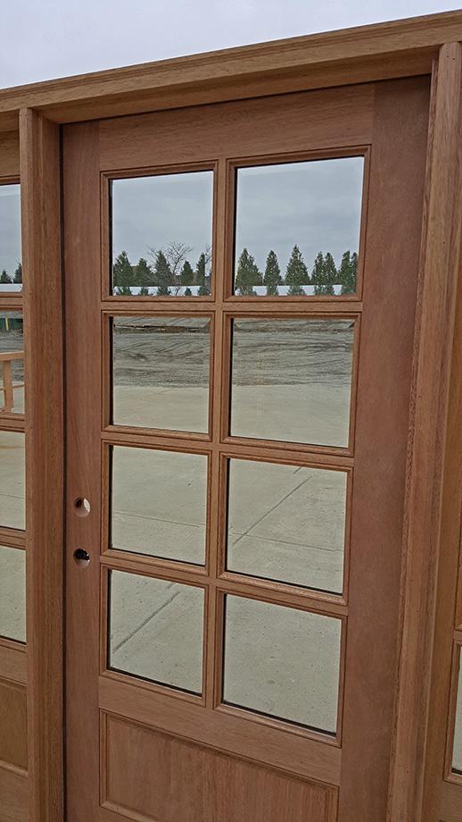 Exterior 8 Lite Clearance Doors Cl 5225