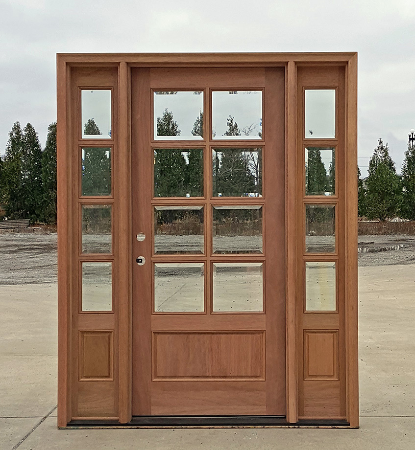 Discount exterior doors cheap entry doors with for Cheap exterior doors