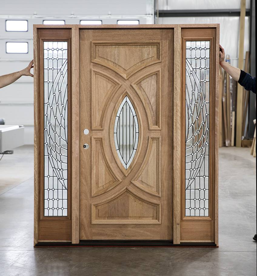 Entry Doors With Beveled Glass