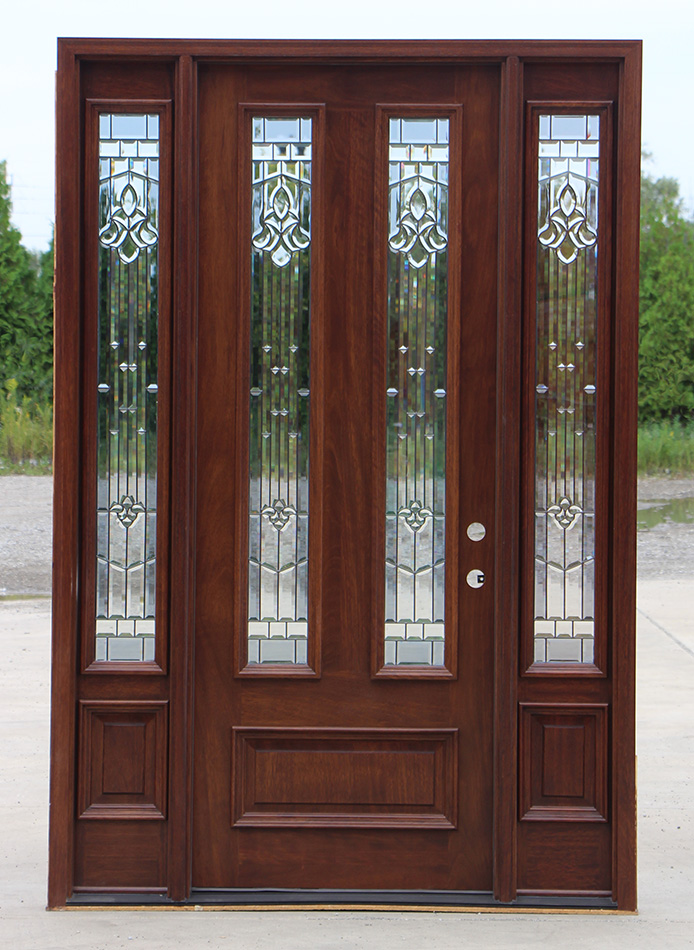 Exterior Mahogany Doors With Sidelights Home Decor
