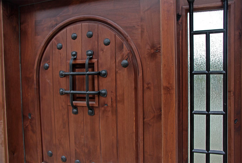 Southwest Style Exterior Door