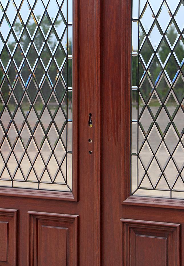 Exterior Double Door With 3 Point Lock