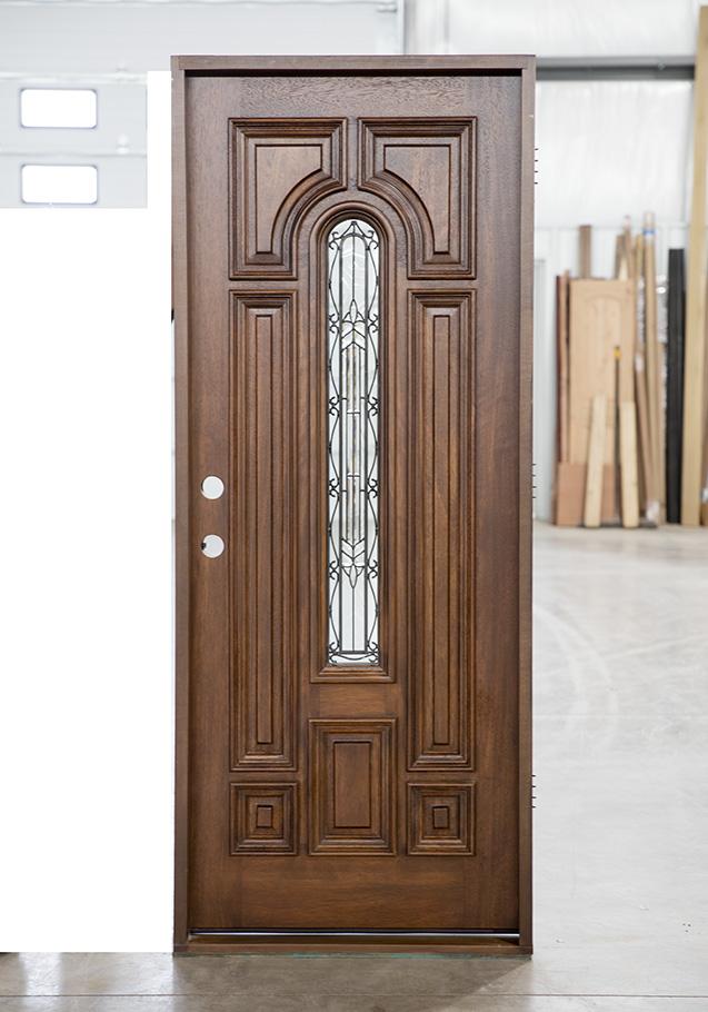 Mahogany 32 Exterior Door Clearance