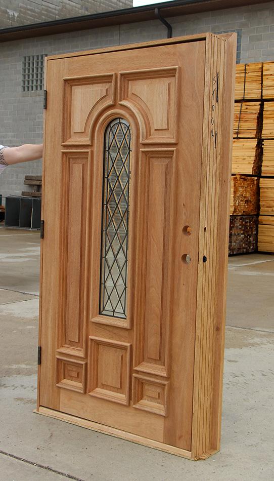 Wide Entry Door With Door Lite