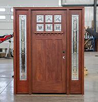 Solid Mahogany Craftsman Door Cl 9 3 0 X 7
