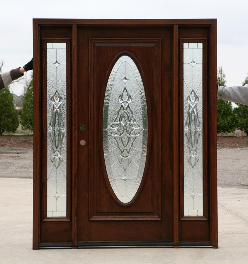 Cheap entry doors front door with sidelights 100 doors for Cheap front doors