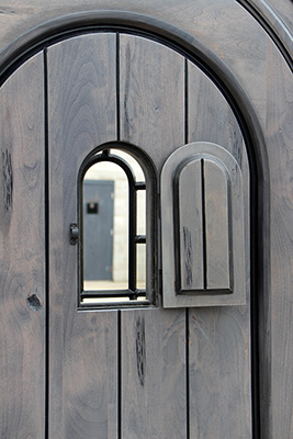 Small Sliding Door Exterior