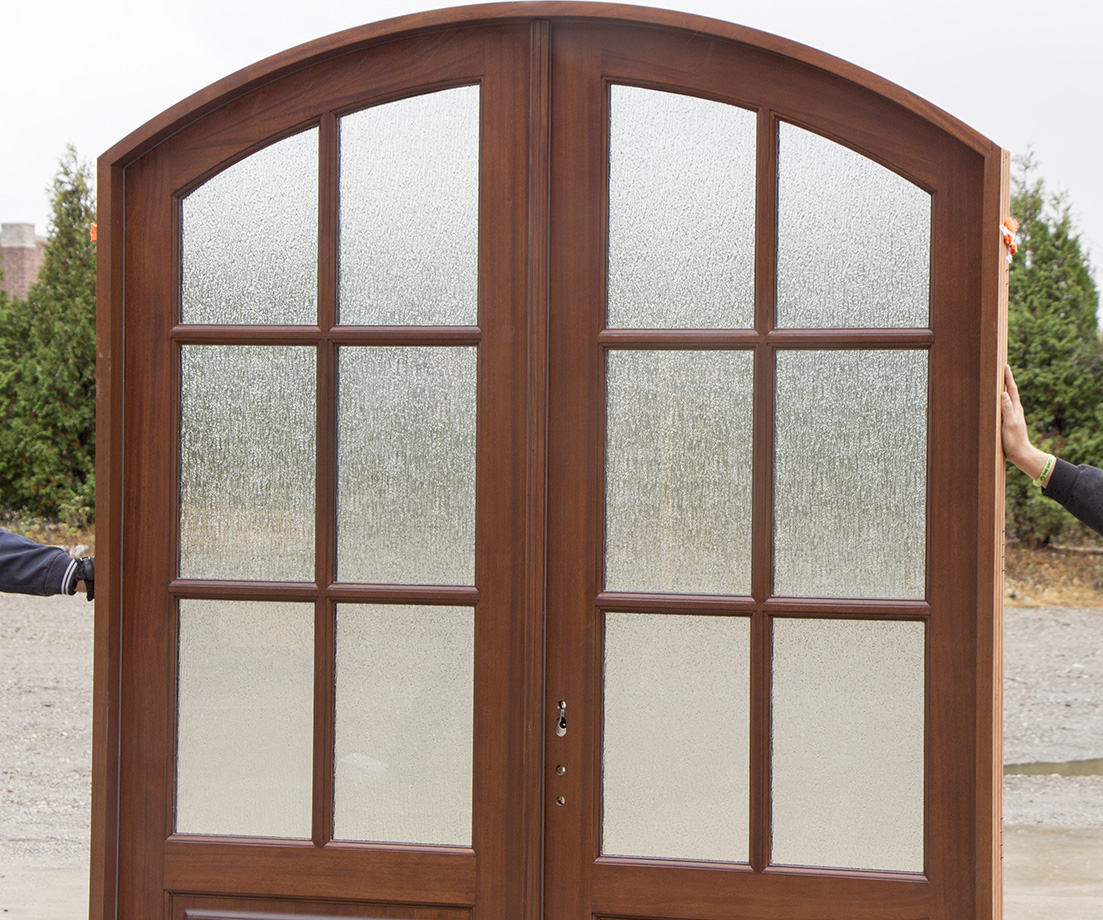 920 #694133 Arched Exterior Double Doors Model Whitehawk save image Arched Double Entry Doors 40771103