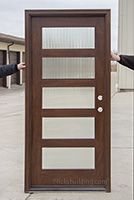 modern 5 lite entry doors on clearance