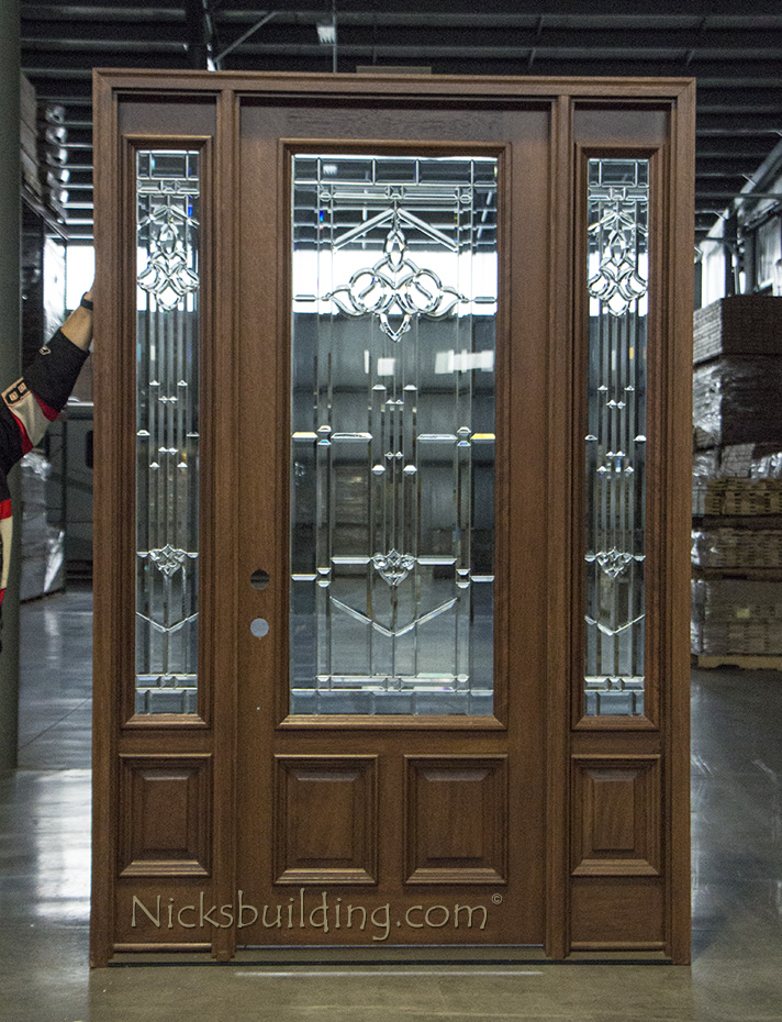 Solid Mahogany Exterior Door Cl A300
