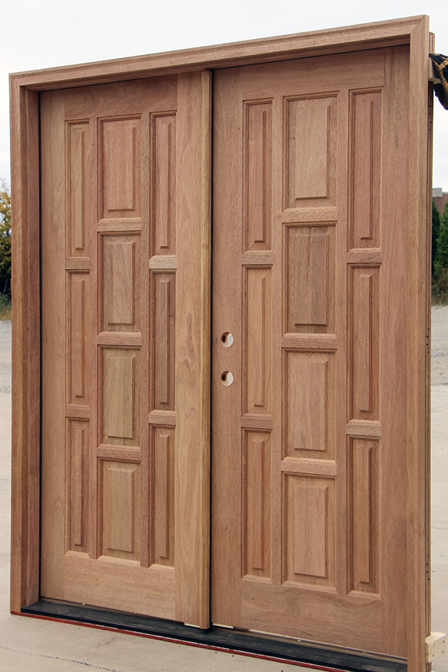 exterior mahogany double doors cl 65