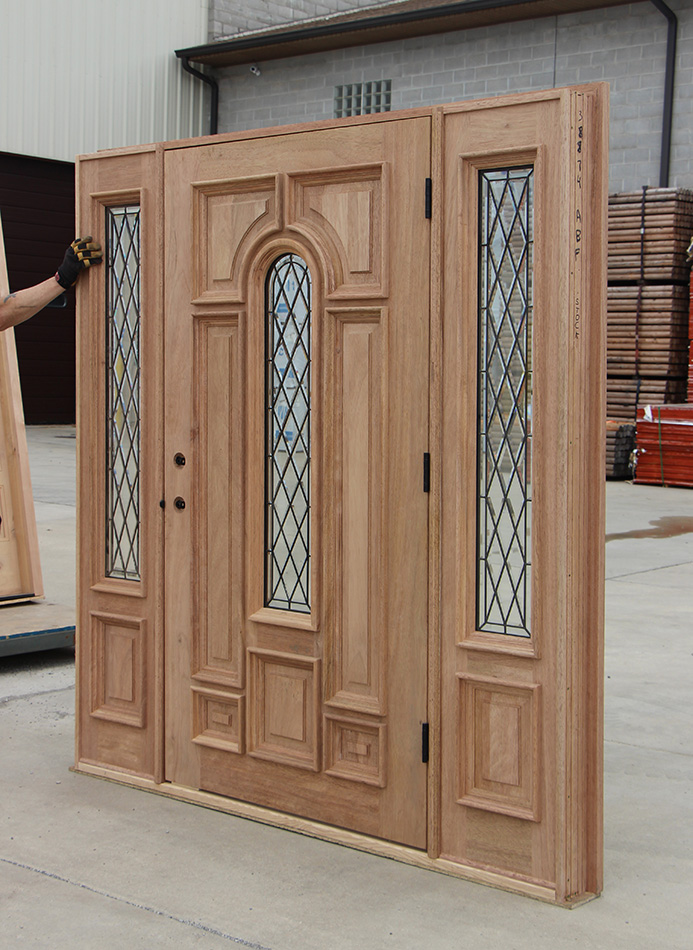Magnificent Wide Entry Door With Sidelights Cl 66 Door Handles Collection Dhjemzonderlifede