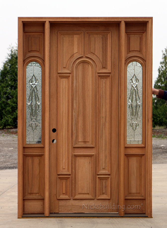Solid wood exterior doors on sale for Solid wood door construction