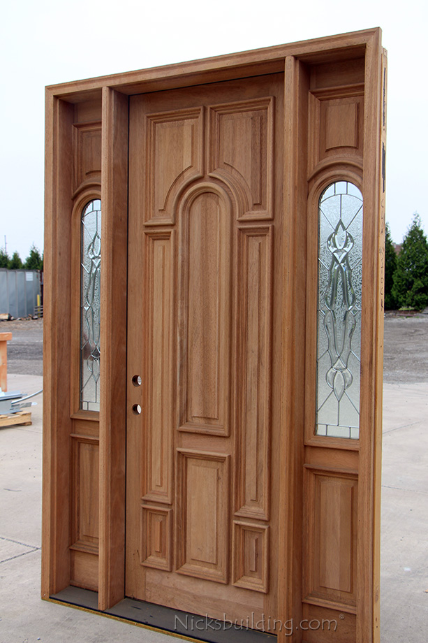Solid wood exterior doors on sale for Cheap exterior doors