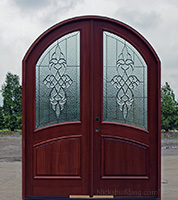 Arched Top Double Doors CL-122