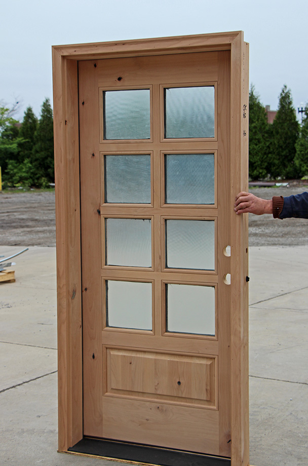 8 lite rustic exterior doors for 8 lite exterior door