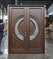 CL-146 Tiffany Doors Pre-finished