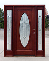 Incroyable Only $2595, CL 4316 Clearance Oval Glass Exterior Door System