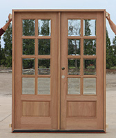 CL-5486 8-Lite Exterior Double Doors
