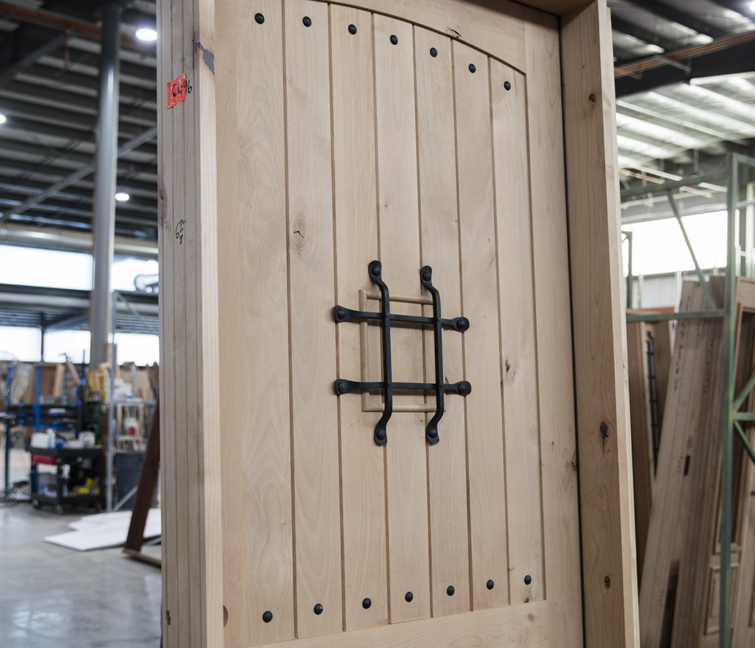 official photos 8b64e 689bc Knotty Alder Rustic Single Door 42x96