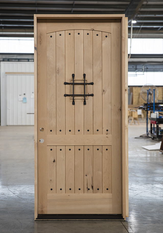 Knotty Alder Rustic Single Door 42x96