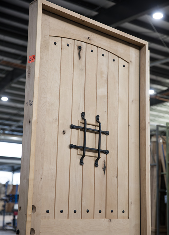 Knotty Alder Rustic Door 42x96