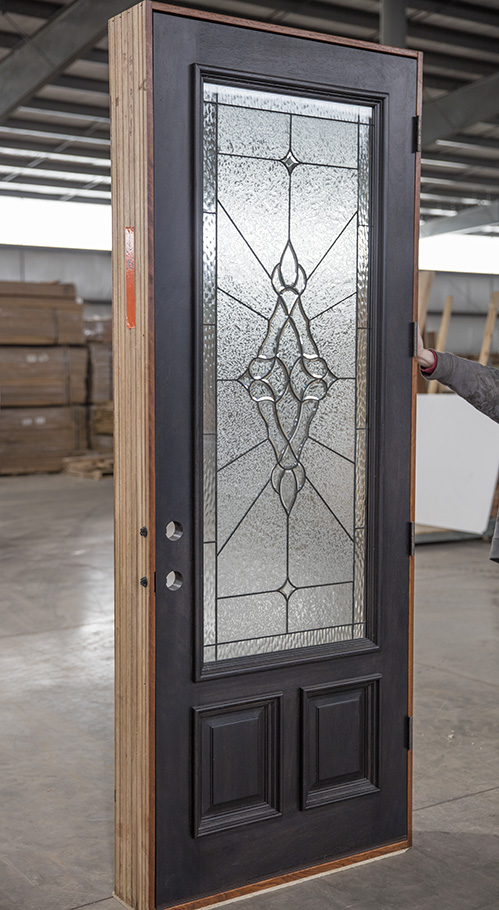 Cl A5 Mahogany Exterior Door Ebony Finish