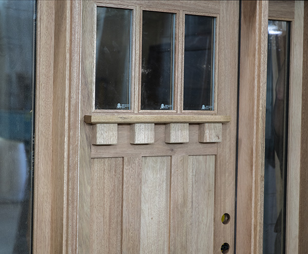 Craftsman door oversized dentil shelf - Oversized exterior doors for sale ...