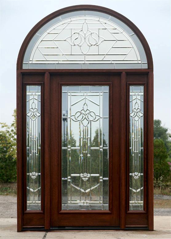 Half round transom doors solid mahogany doors for Half round transom