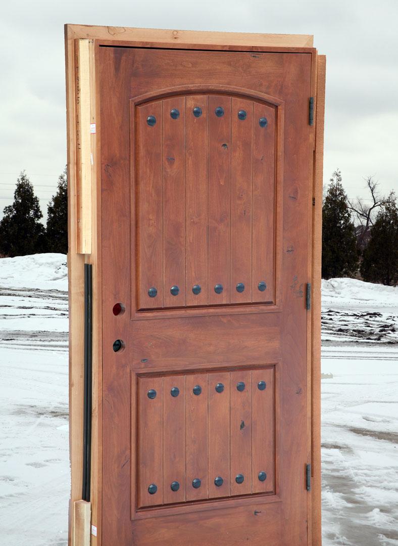 Rustic arched doors clearance doors for Rustic exterior doors