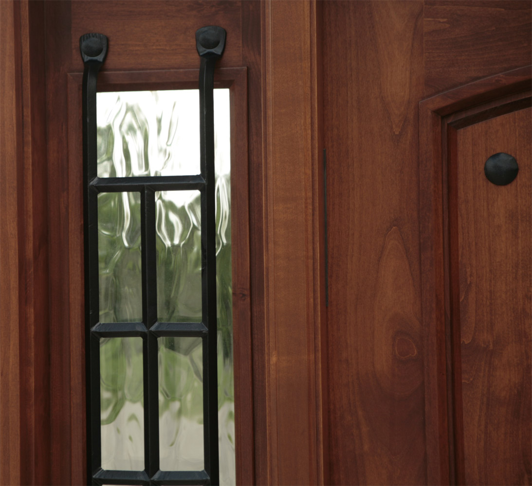 1000 #653927 Exterior Door With Sidelights Pre Finished pic Clearance Entry Doors 44311093