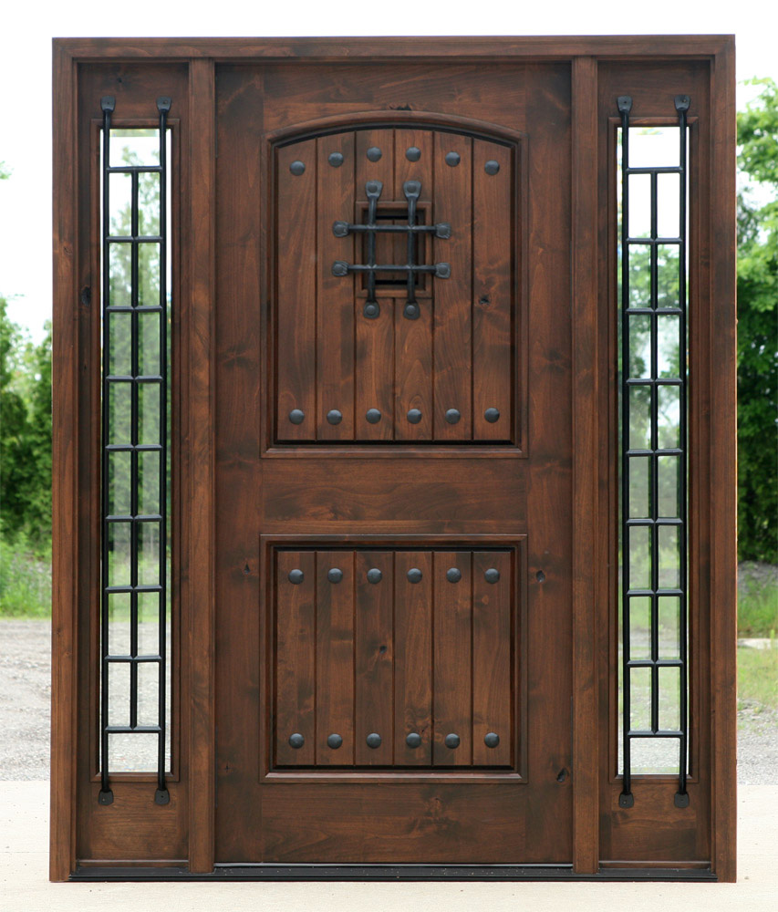 Exterior Door With Sidelights Pre Finished