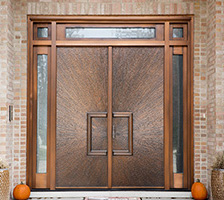 Exterior Copper Doors
