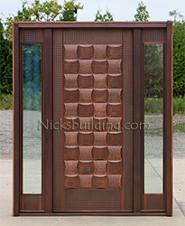 copper doors exterior on sale