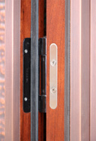 Copper door adjustable hinges