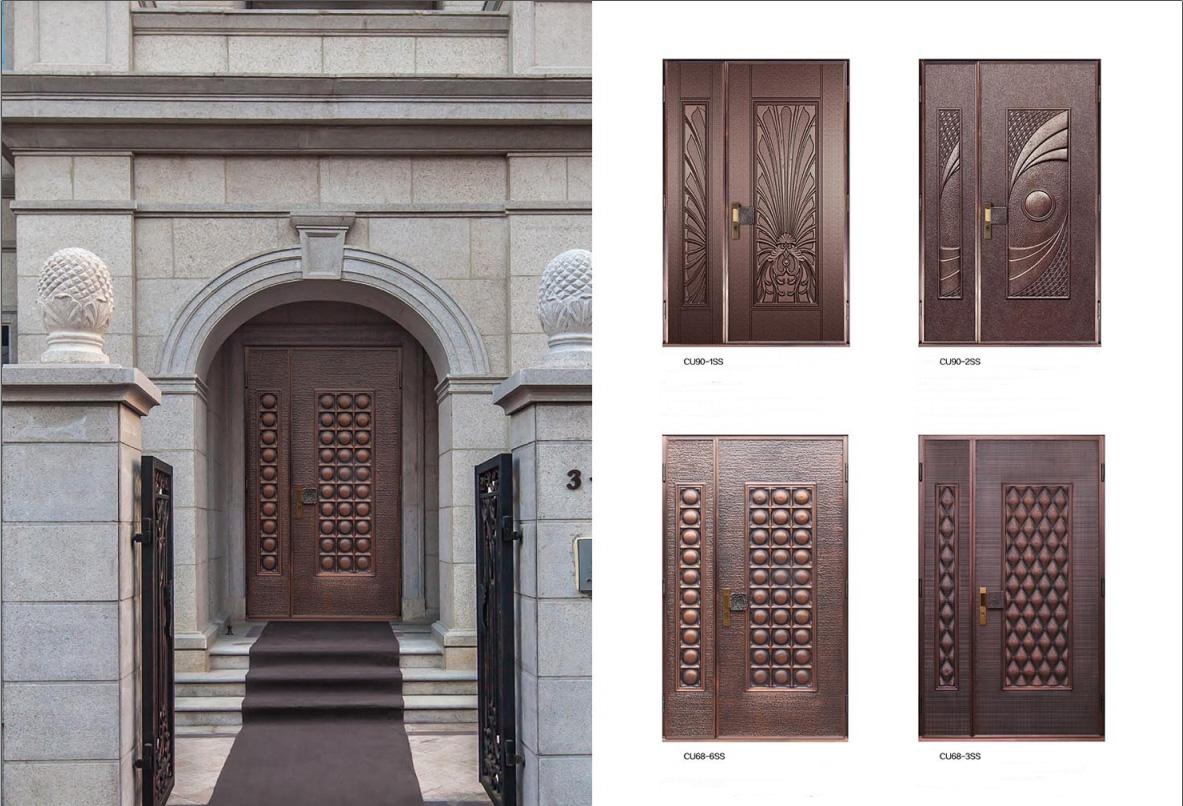 Copper Doors Exterior Copper Doors