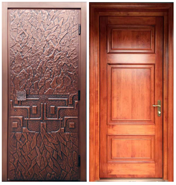 Copper Doors | Exterior Copper Doors