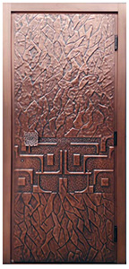custom order copper doors
