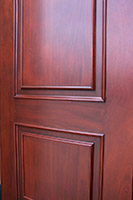 Mahogany Wood Copper Doors