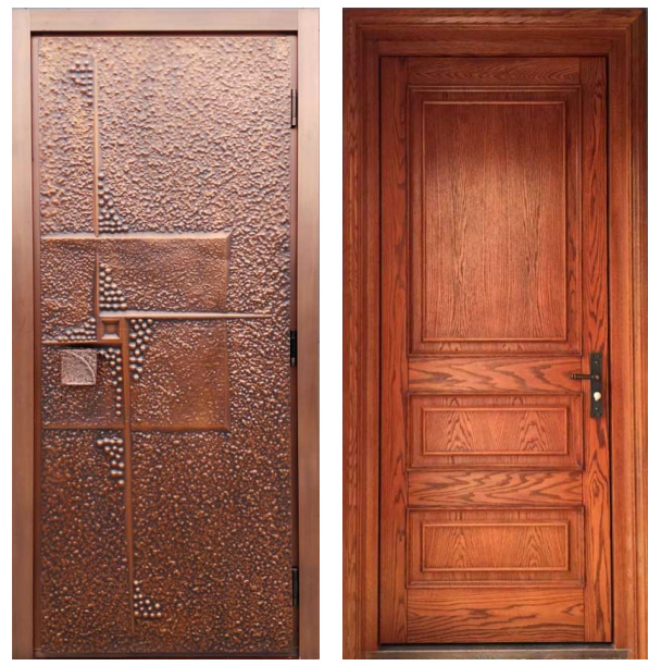 ... custom order exterior copper front doors ... & Copper Doors | Exterior Copper Doors