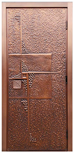 custom order exterior copper front doors