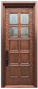 custom order copper door