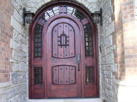 castle style entry doors