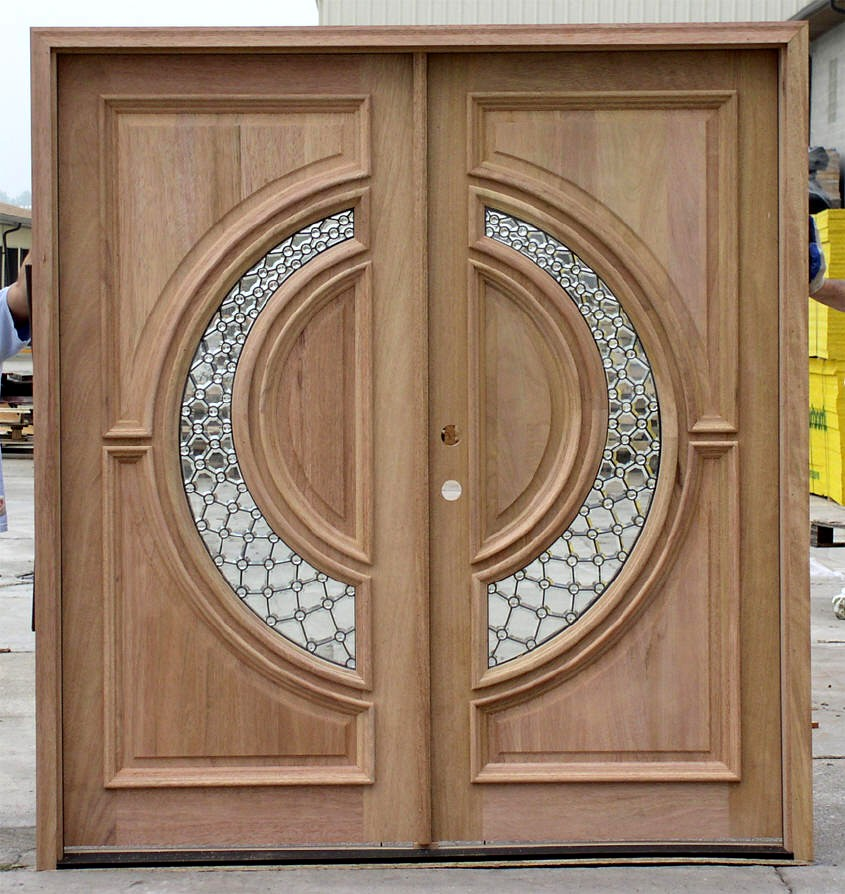 Contemporary entry double doors for 9 foot exterior doors