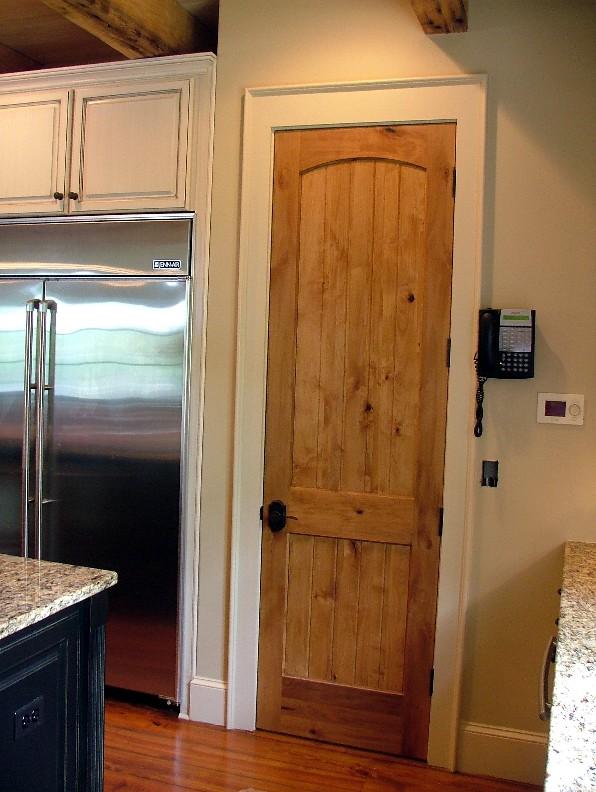 Rustic Interior Doors : Rustic doors interior knotty alder